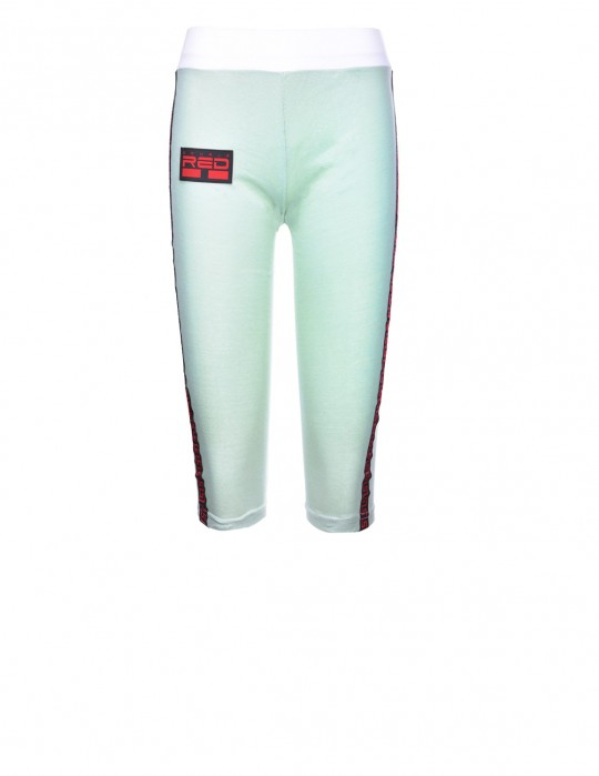 Leggins SPORT IS YOUR GANG 3D Logo Light Green