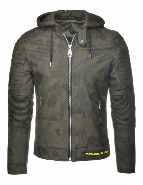 STREET HERO CAMODRESSCODE Leather Jacket