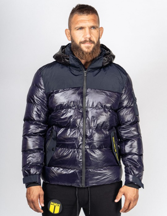 SUPERSONIC 3D Logo Winter Jacket Blue