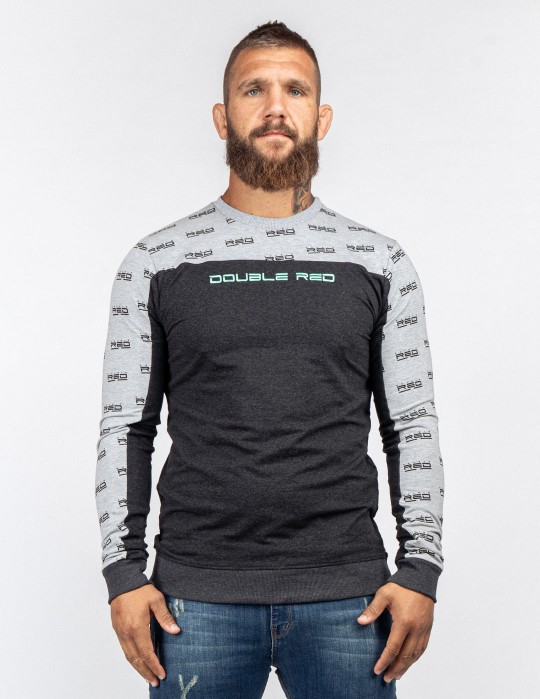 Sweatshirt UTTER FULL LOGO Grey