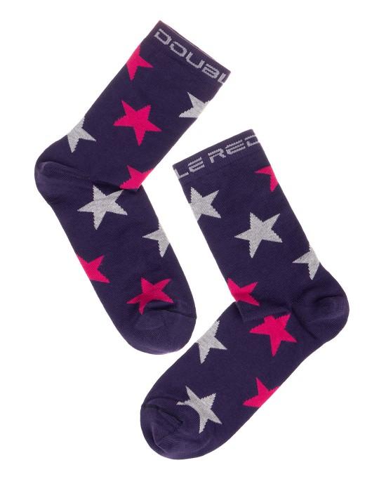DOUBLE FUN Socks Stars
