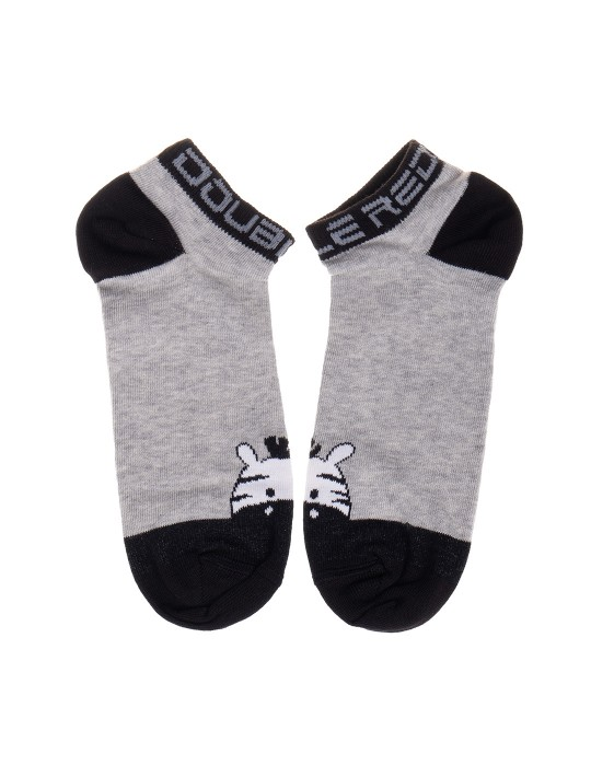 DOUBLE FUN Socks Zebra Pet