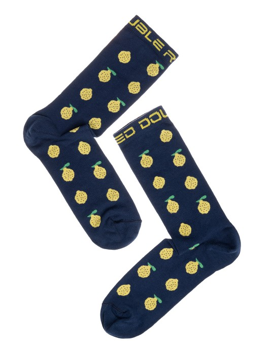 DOUBLE FUN Socks Lemons