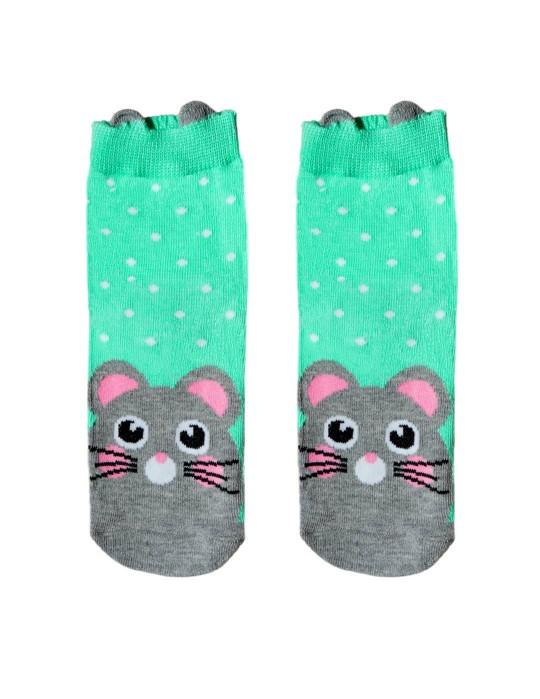 KID FUN Socks 3D Ears Mousy