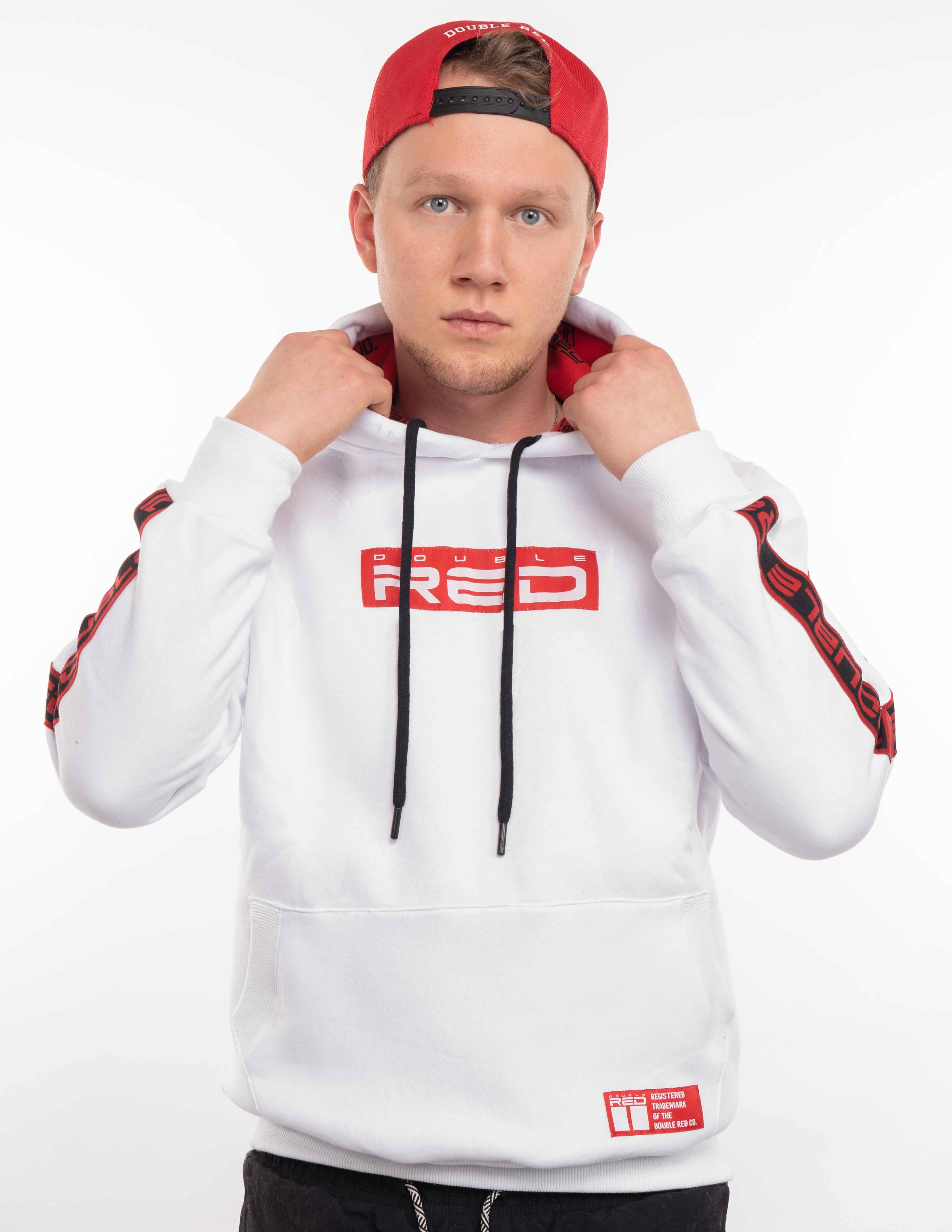 UNISEX OUTSTANDING FCK COVID LIMITED EDITION White/Red