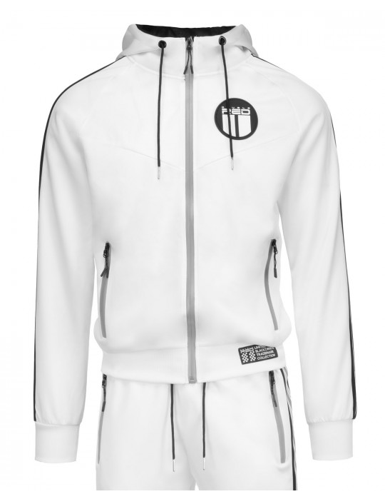 REFLEXERO™ SPORT IS YOUR GANG™ Tracksuit White