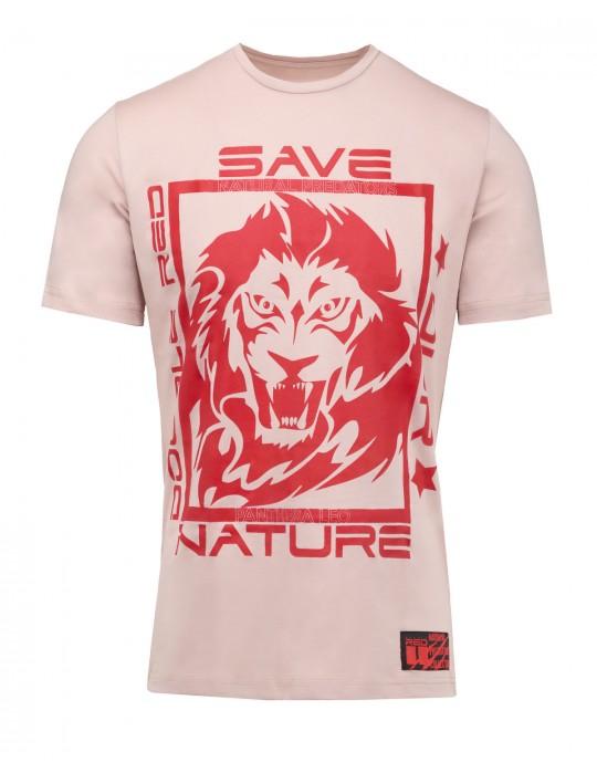 Natural Predators Lion T-Shirt Beige