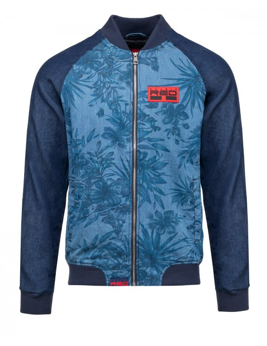 RED JEANS Fly Jacket Dark Blue