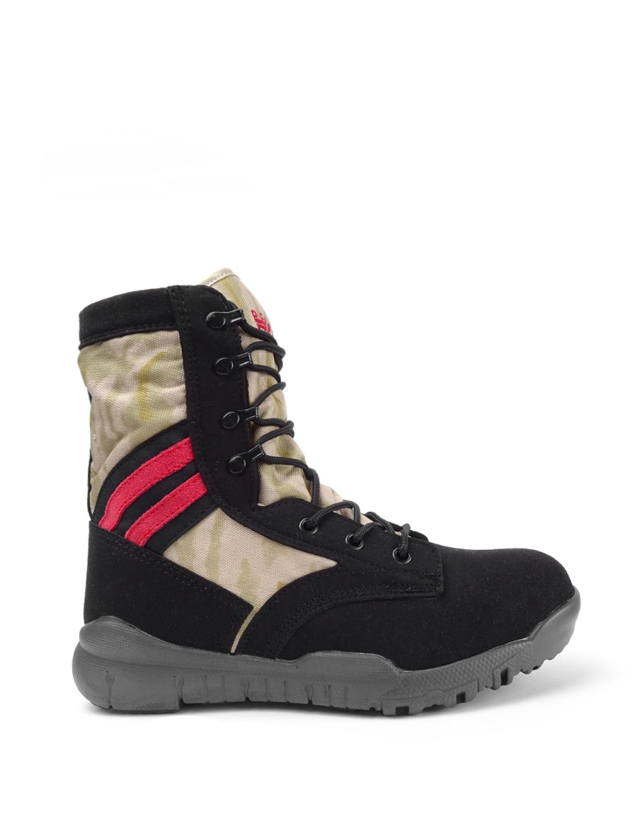 Boots Red Desert Camobootscode Black