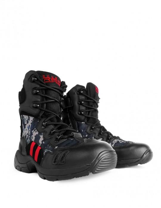Boots Combat Digital Black