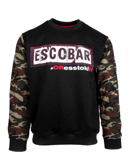 Sweatshirt Escobar Green CAMO Mafia Edition