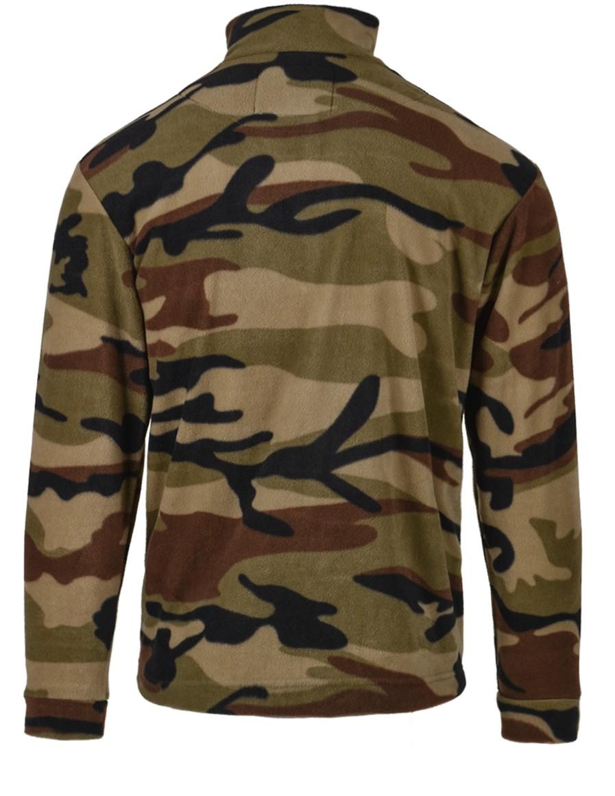 Camo Fleece Sweatshirt