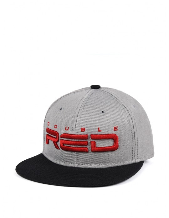 STREETHERO DOUBLE RED Snapback 3D Embroidery Black/White Coffee