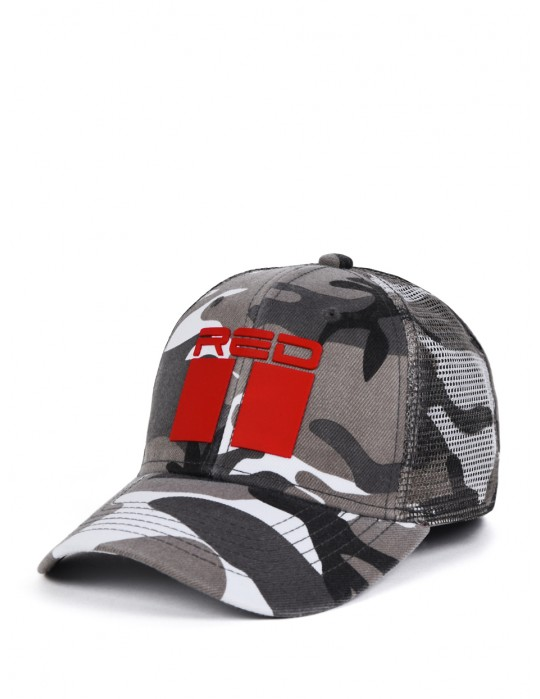 DOUBLE RED Soldier 3D Cap B W 56f6cf671a
