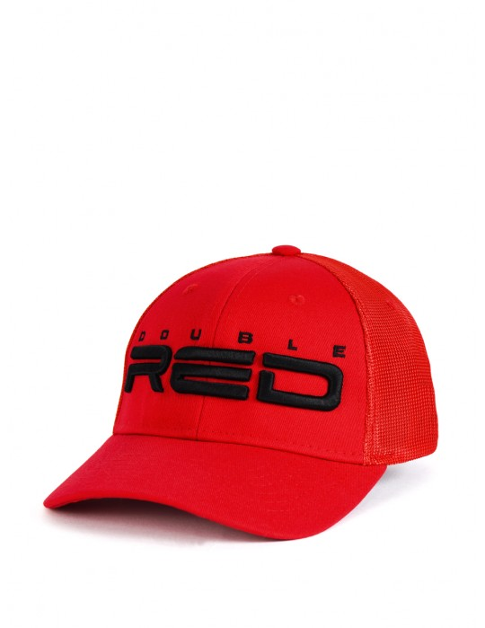 DOUBLE RED Airtech Mesh Cap Red/Black