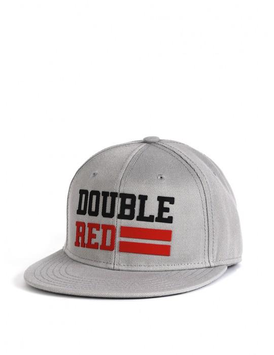 Snapback Cap UNIVERSITY OF RED Grey/Black/Red