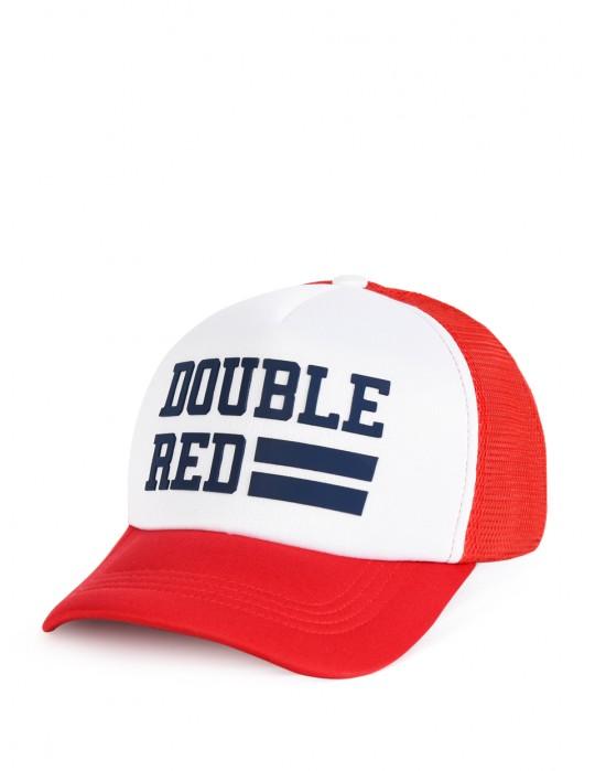 Snapback Cap UNIVERSITY OF RED Red/White
