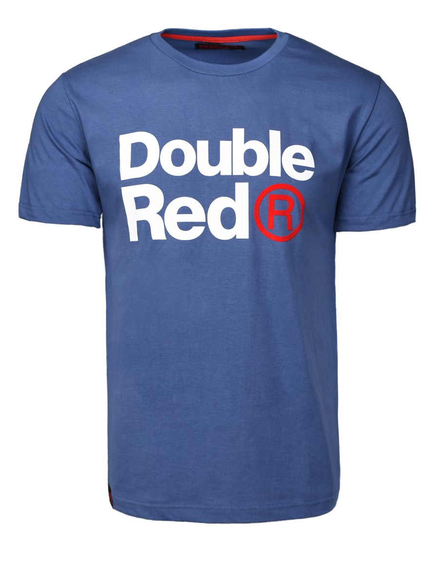 fe9d4e0c33a6 DOUBLE RED Trademark T-shirt Dark Blue - Double Red