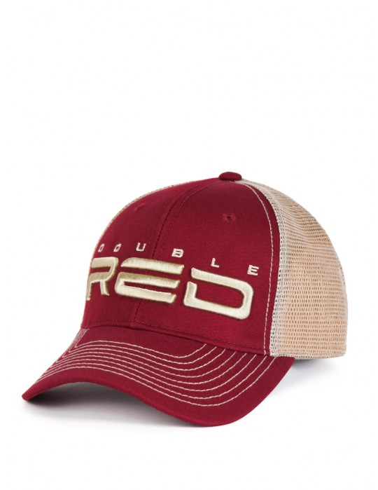 DOUBLE RED Airtech Mesh Cap Bordeaux/Sand
