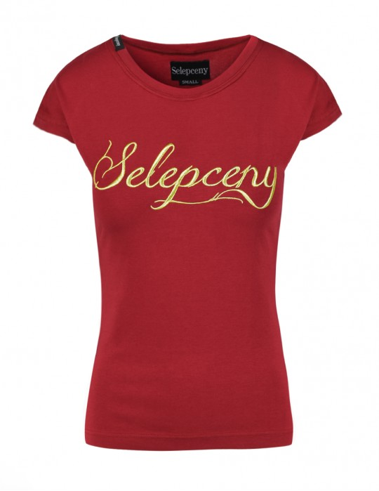 SELEPCENY T-SHIRT 100% COTTON Bordeaux