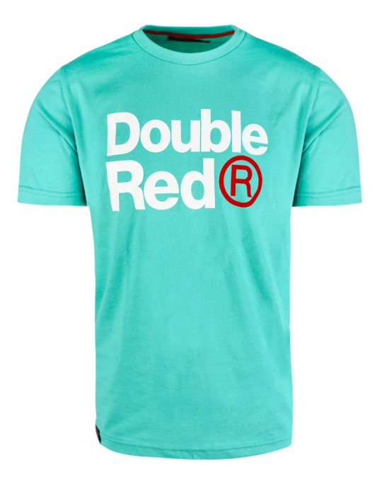 DOUBLE RED Trademark T-shirt Green