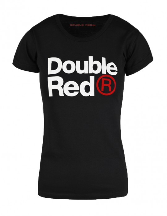 DOUBLE RED Trademark T-shirt Black