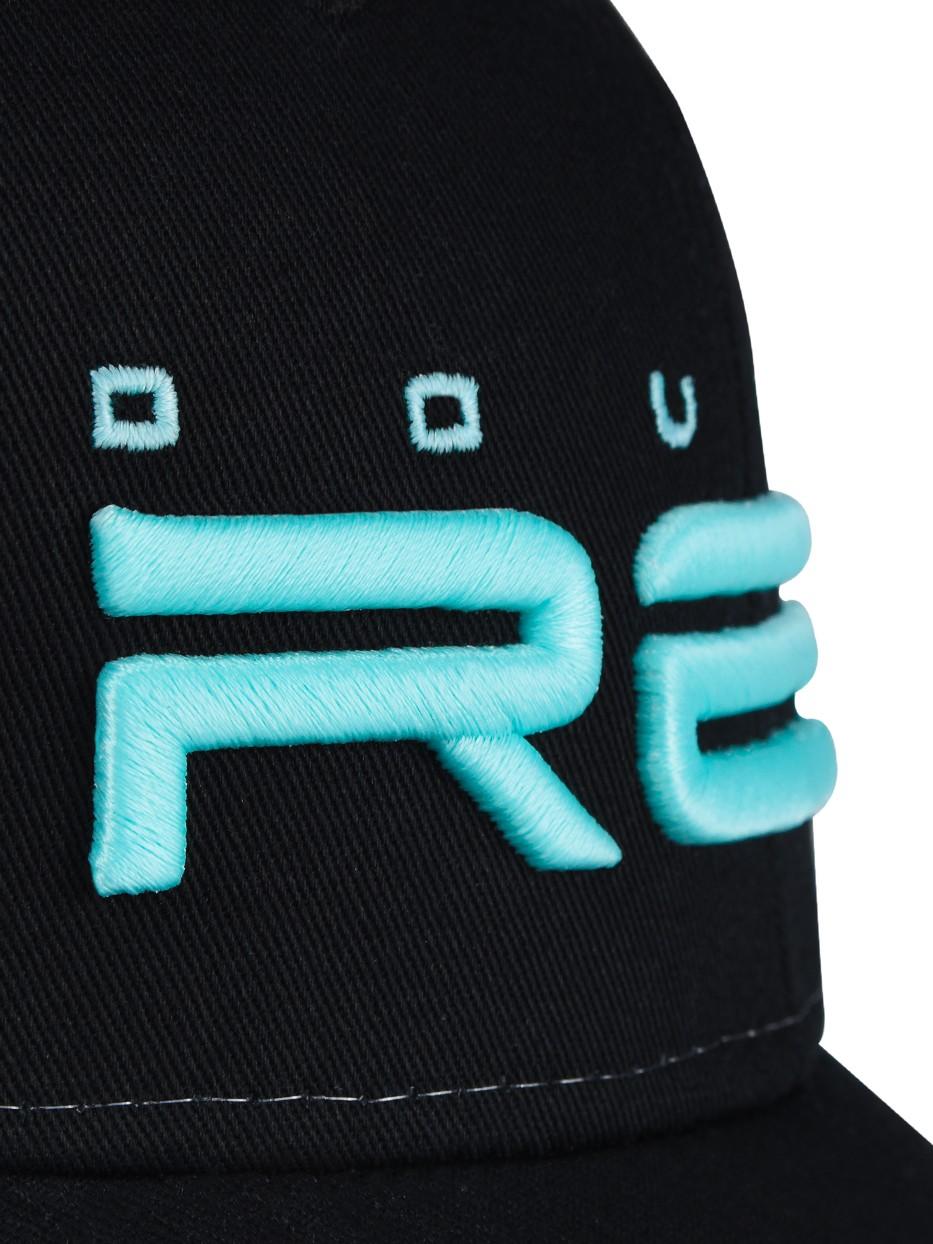 Phosphorus All Logo Black/White Cap Blue Logo