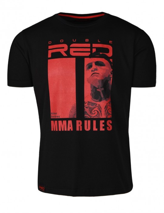 Women´s Limited Edition MMA RULES T-shirt Black