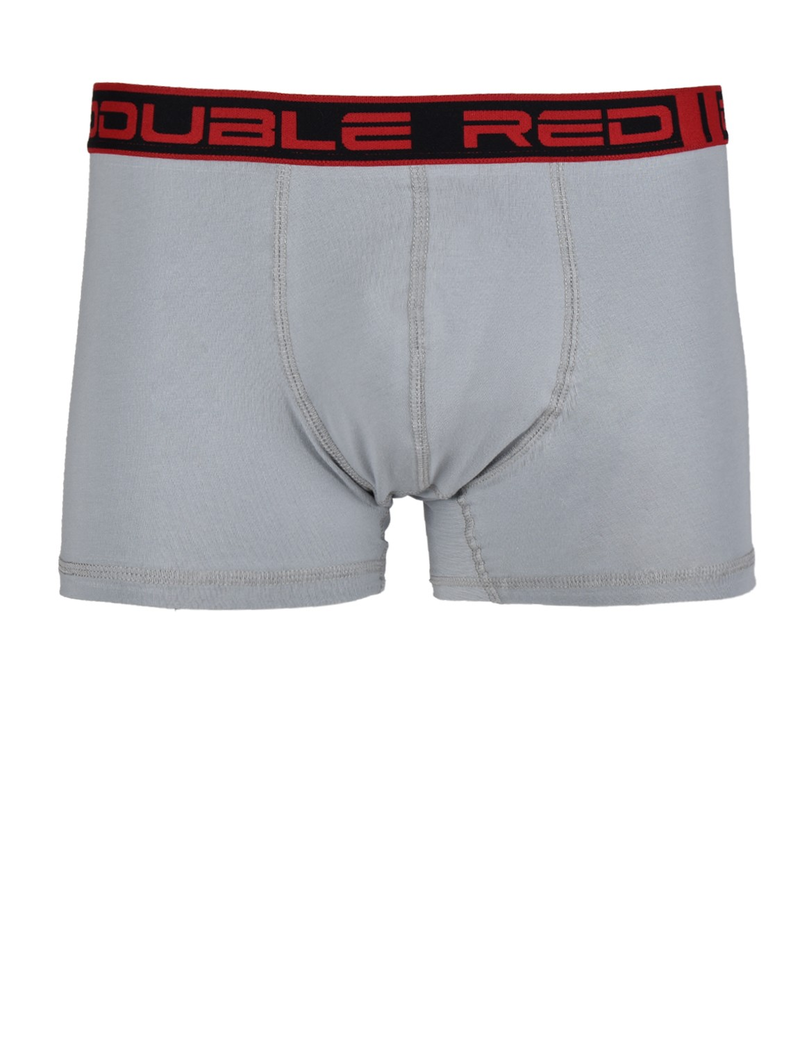 2RED BOXER Grey