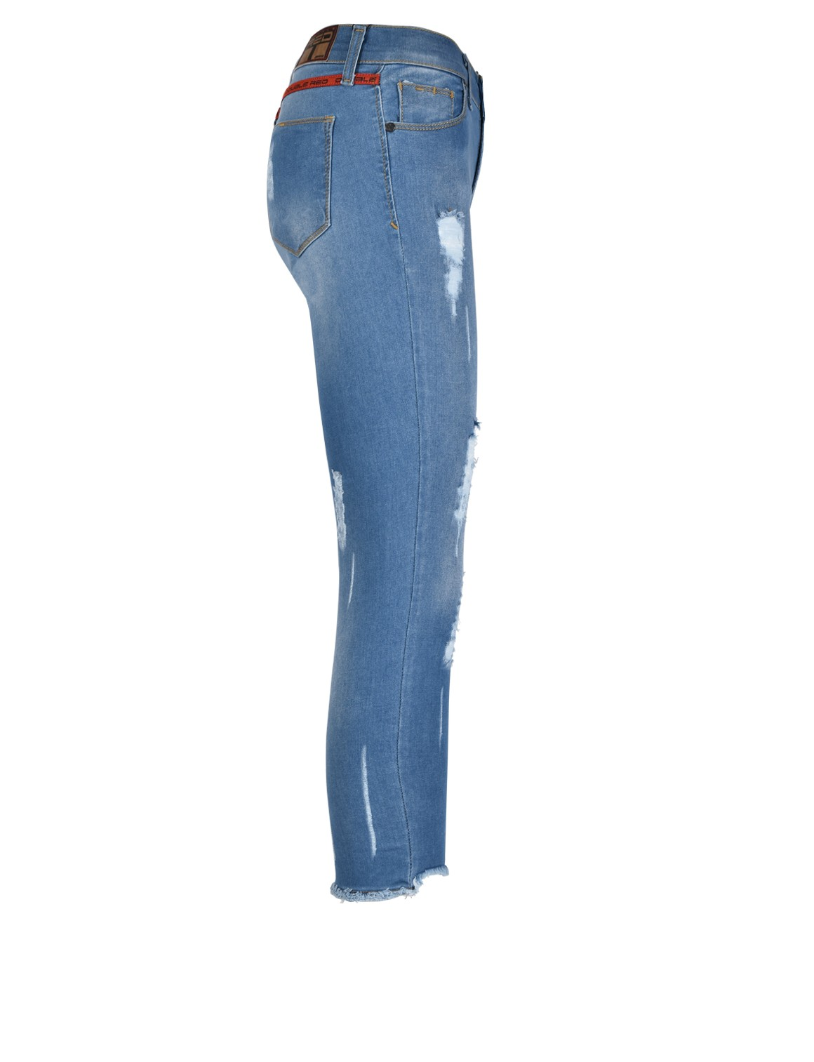 Mega Rip Jeans Blue