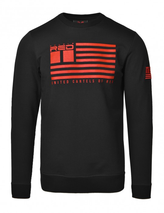 United Cartels Of Red UCR Black Sweatshirt