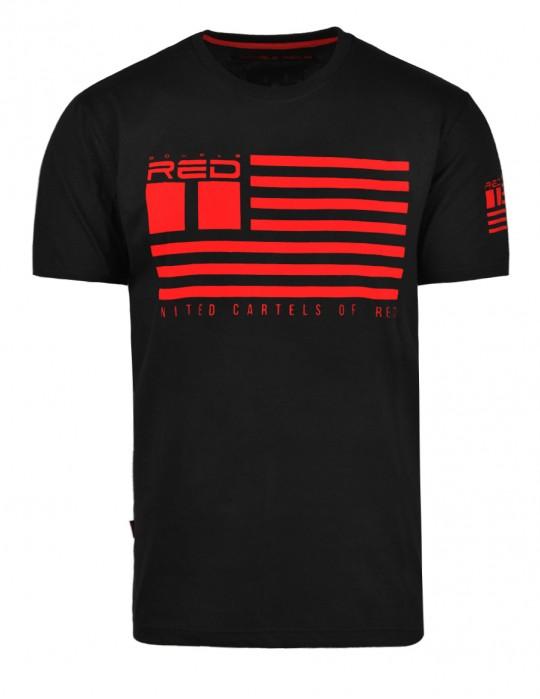 United Cartels Of Red UCR T-shirt Black