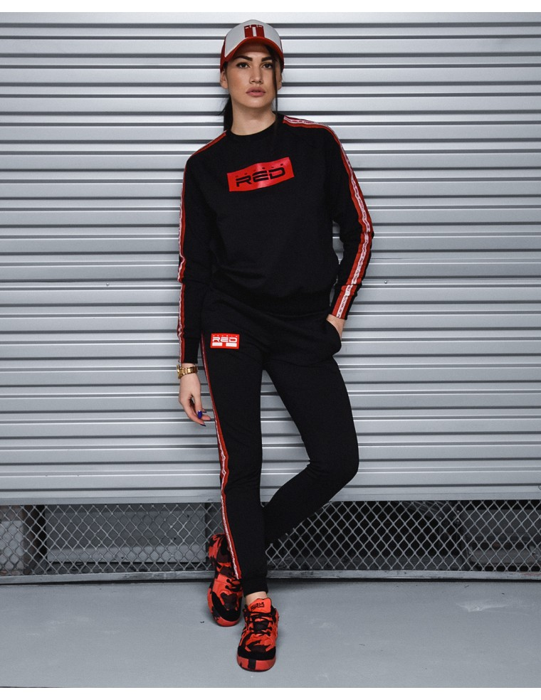 Sweatpants EMINENCE All Logo Black - Double Red fcdb2a4a70