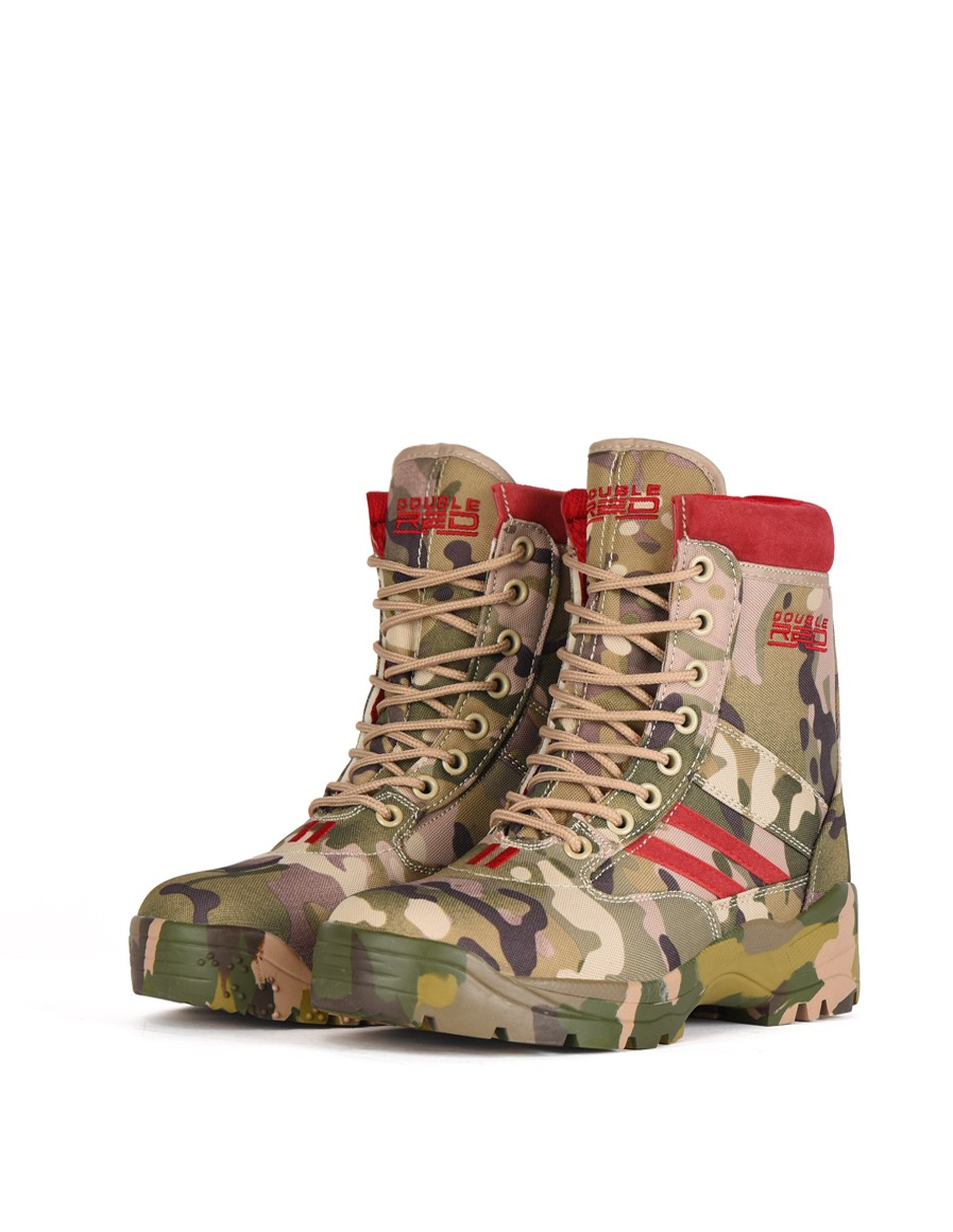Boots Multicam Red