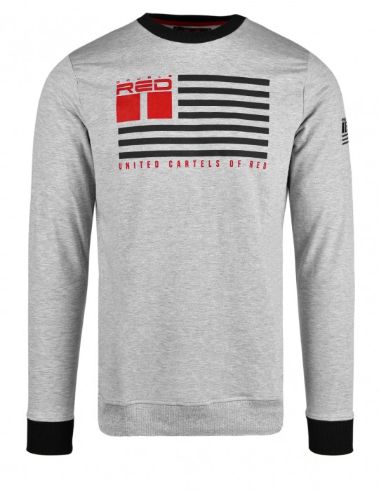 United Cartels Of Red UCR Grey Sweatshirt