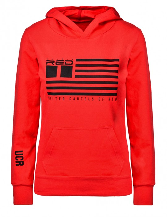 United Cartels Of Red UCR Red Sweatshirt for woman