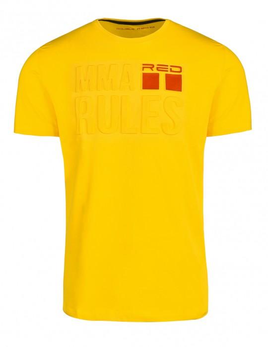 T-Shirt MMA RULES Yellow