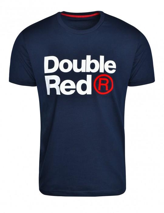 DOUBLE RED Trademark T-shirt Dark Blue