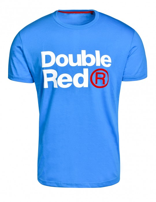DOUBLE RED Trademark T-shirt Blue