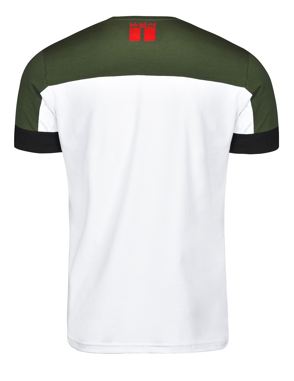 T-shirt GLORIOUS Olive/White