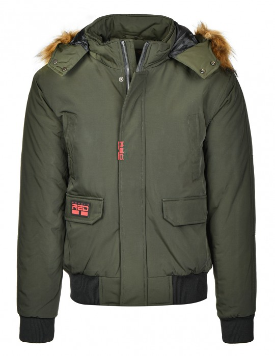 STREET HERO Jacket Winter Edition Olive