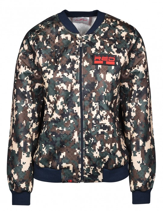 DIGITAL CODE Bomber Jacket