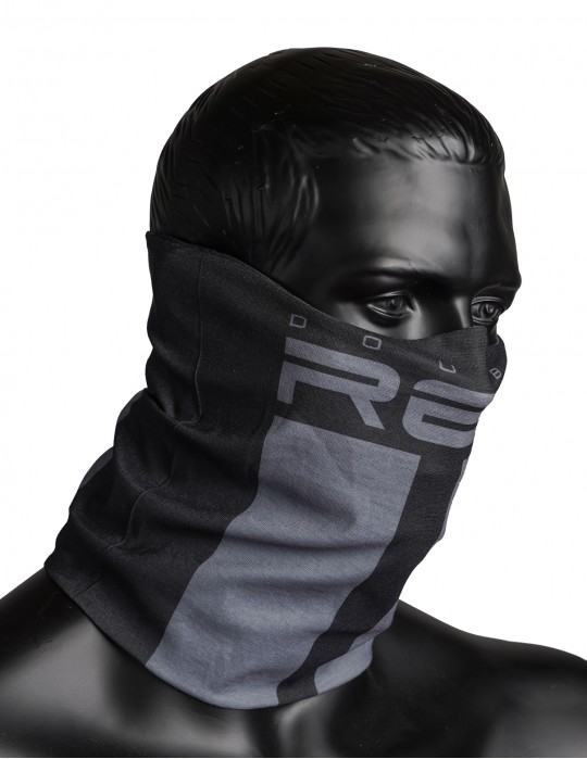RED SQUAD Snood Dark Grey