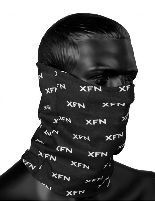XFN SNOOD Full Logo Black