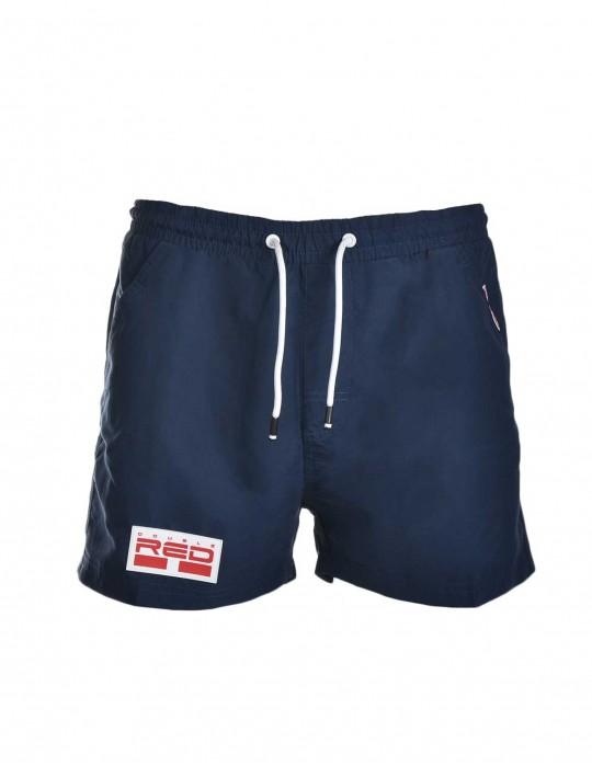 DOUBLE RED Aqua Swimshorts Dark Blue