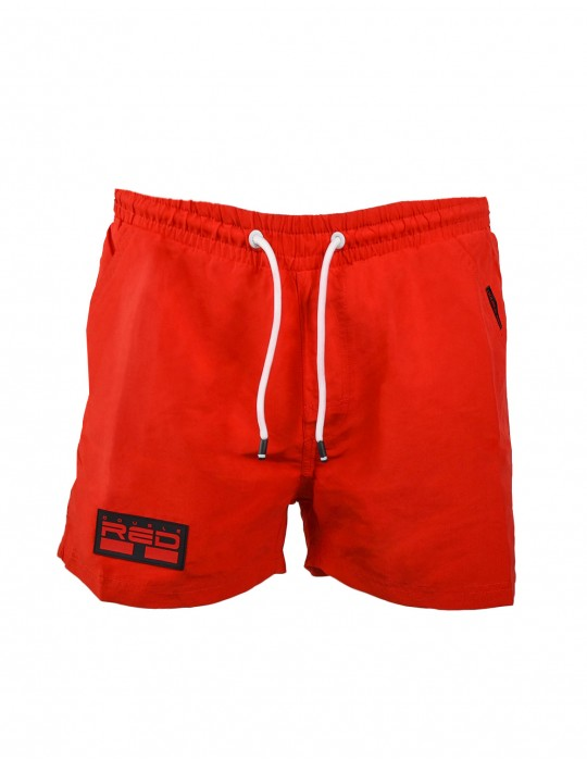 DOUBLE RED Aqua Swimshorts Red