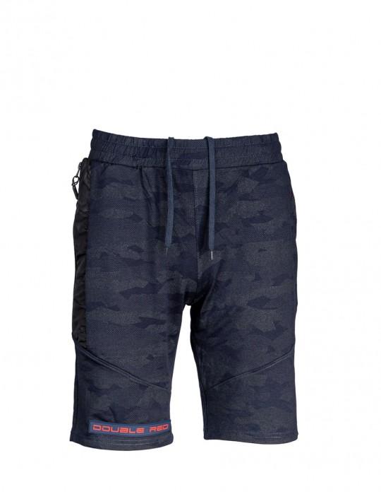 Leggia Shorts Blue Camo