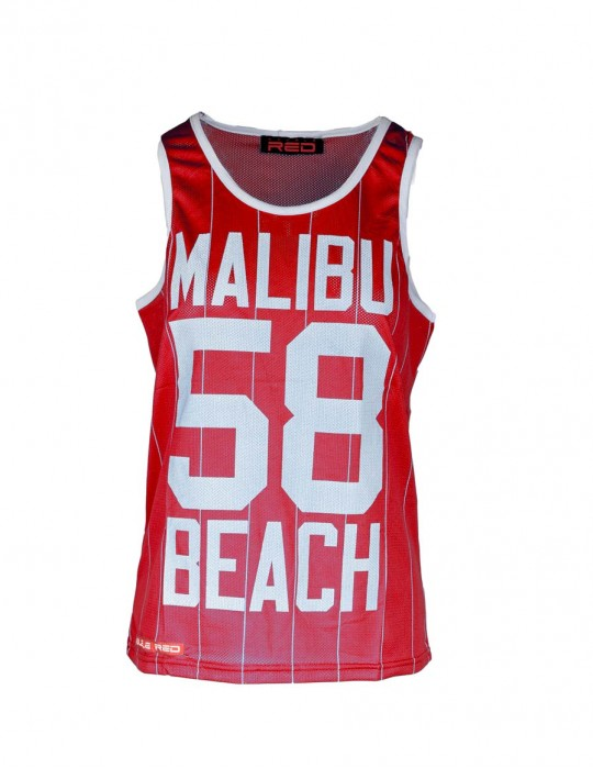 Womens Top Malibu 58 Red