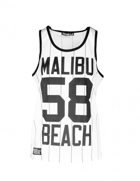 Womens Top Malibu 58 White