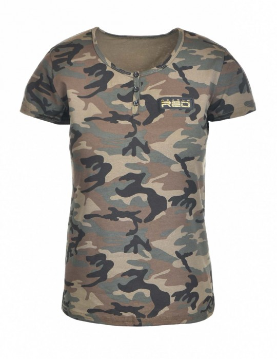 T-Shirt Camodresscode Brown